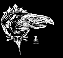 Skeksis -June '12 Daily Art Jam- Day 28 by JeremiahLambertArt
