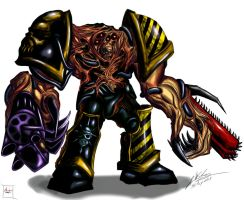 Chaos Obliterator: IRON WITHIN!!!! by Amalgam-Images