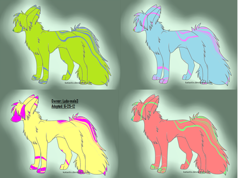 2 pt dog adopts (please no free use) by sparkly-blonde