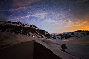 Gottardo, Milky Way by Ganjalvi
