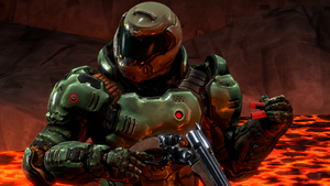 DOOM SFM fan poster by Lincoln124