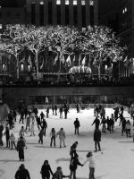 Ice Skating at Rockefeller by FIRSTxAIDxKIT