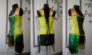 Lady Loki Bodice Commission by Reine-Haru