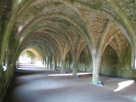 Fountains Abbey Storehouse by Duamuteffe