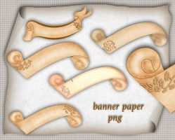 Banner Paper by roula33