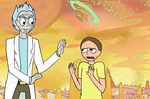 Rick and Morty Redraw by Hydro-Rose