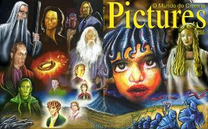 Cover Magazine LOTR by PauloDuqueFrade