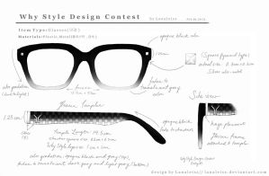Y Design : Glasses # 1 by Lanaleiss