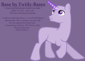 MLP Base 314 by Twiily-Bases