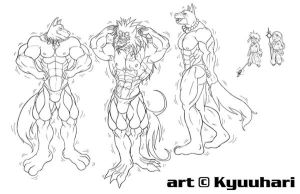 The Growth of the Canines of K by ronso