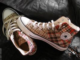 All Star on Leather by dilarosa