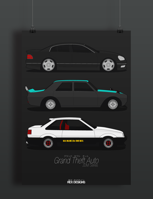 Grand Theft Auto JDM Series by Axle9