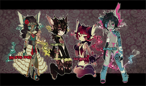 ::Adoptables:: Blakrye Halloween B2 [closed] by Jotaku