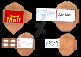 Mail Art Project by Bexy-Lea