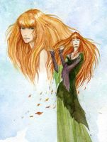 Queen of autumn by tin-sulwen