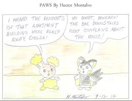 Rowdy Residents by HectorNY