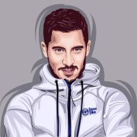Eden hazard  by kalongart