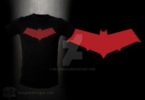 Red Hood Tee by enygma214