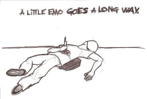 a little emo goes a long way.. by made-in-87