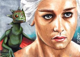 Daenerys Targaryen - Game of Thrones by Dr-Horrible