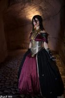 Wicked Eyes and Wicked Hearts - Morrigan cosplay by Achico-Xion
