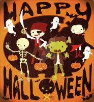 Halloween Card 07 by ExoroDesigns
