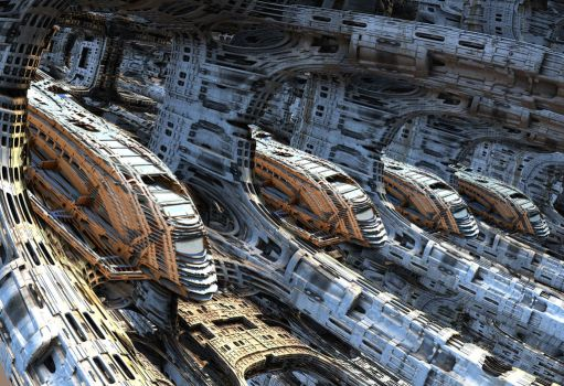 Shuttle Factory by HalTenny
