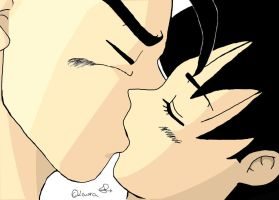 First Kiss by SonGohan10