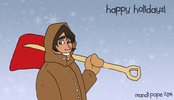 I'm Here To Shovel Your Driveway by MandiPope