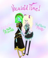 Vocaloid Cosplay Time! by Ask-BowPrincess