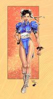 Chun Li - Colors by TracyWong