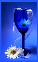 Blue Glass and White by barcon53