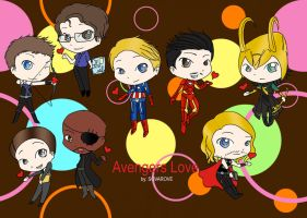 avengers love by sovarove