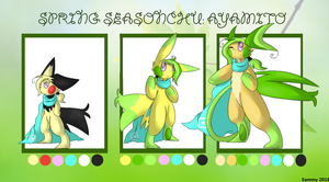 Ayamito Evolution Reference by Sammu-Desu