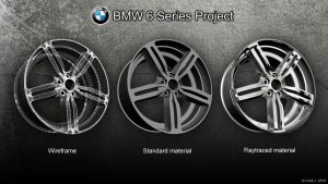BMW 6 Series Project - Rim by uros3D