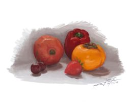 Still Life Practice 01 by JuanX