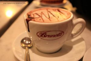 Hot Chocolate at Brunetti by asilentsong