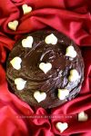 Quadruple Chocolate Love Cake by claremanson