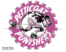 Petticoat Punishers Logo by abnormalbrain