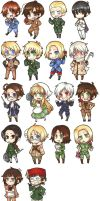 Hetalia Stickers v2 by ChocolateLlama