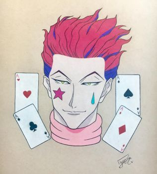 Hisoka Morow : Hunterxhunter by step-on-mee