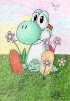 Cute Yoshi by Dino-drawer