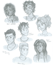 The Seven Demigods by pookiecatx