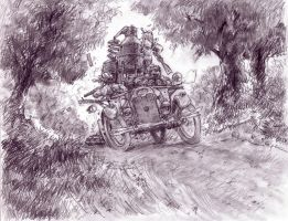 Moonshine Chase by Bjerg