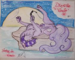 Art Trade_-Magic Summer Night-___Dream by ThunderyLottie