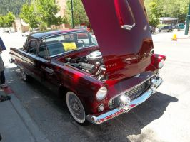 1956 Ford Thunderbird by Blockwave