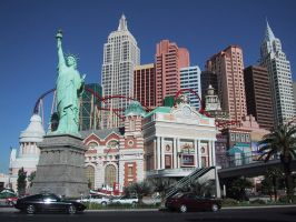 New York, New York Hotel and Casino by videodude1961