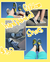 custom hand painted shoes by lapaa