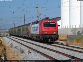 CP 5608 and the new ad 160910 by Comboio-Bolt