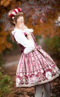 Wonder Queen | Angelic Pretty by Hii-Bee